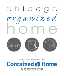 Chicago Organized Home Contained Home